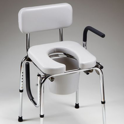 Drop-Arm Commode - Patriot Medical Supply