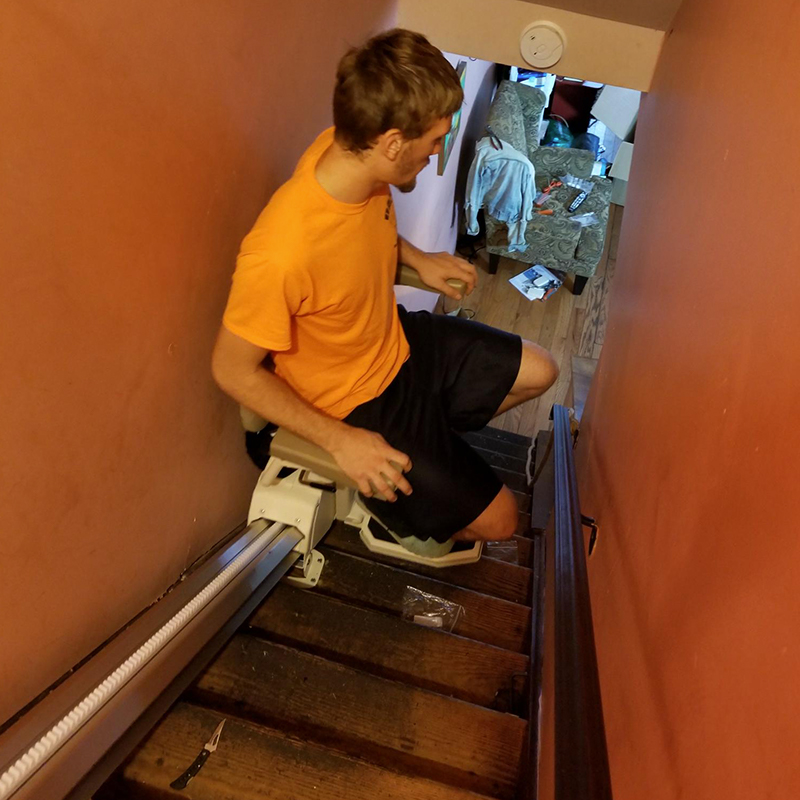 Stair Lifts Image 1 - Patriot Medical Supply