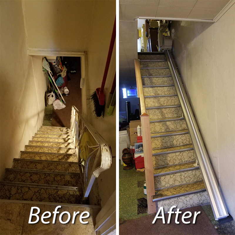Staircase modification Image 2 - Patriot Medical Supply